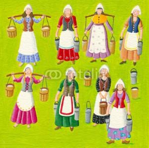 8 maids