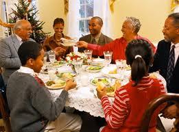 black family dinner