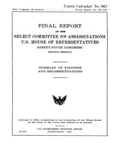 A - HSCA-Vol00-Final_Report