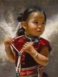 native baby girl