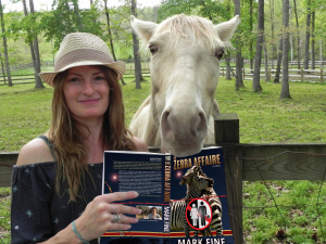 Pamela Crane with Tinkerbell_Zebra copy