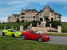 cars mansions