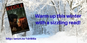 Warm up this winterwith a sizzling read!