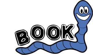blue bookworm