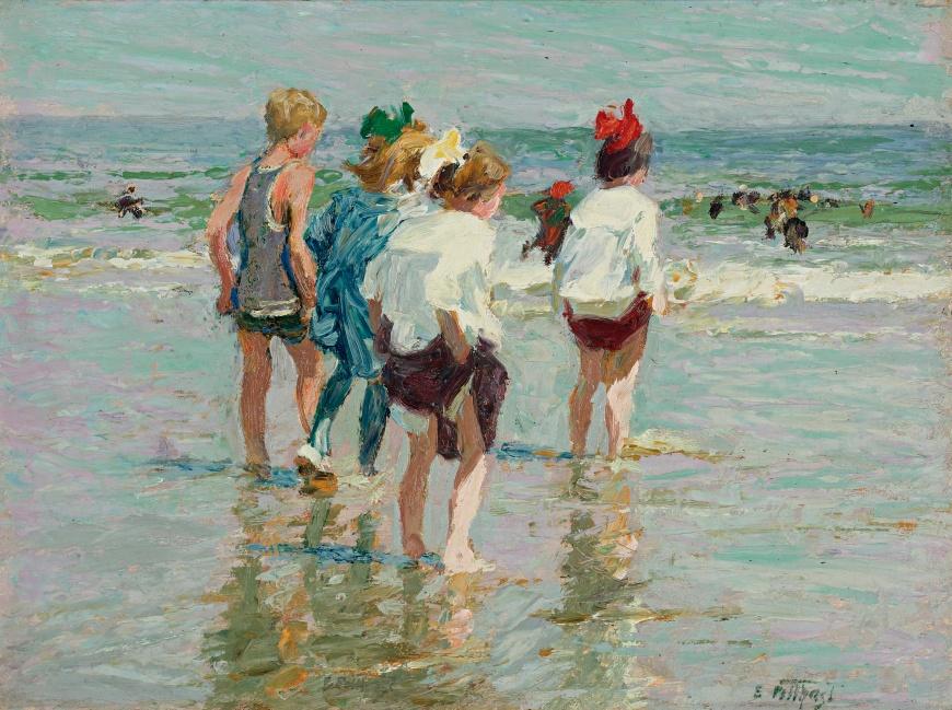 Edward_Henry_Potthast_-_Summer_day,_Brighton_Beach