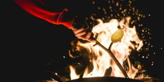 potato fire